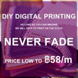 Fashion Digital Printing DIY Customizable Printing