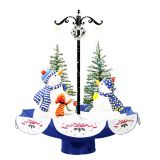 5.6ft Snow Light Christmas Ornament Christmas Tree Set