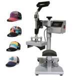 Swing-Away Cap Heat Press Machine