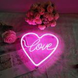 CALCA LED Heart shape love Neon Sign, Size- 25 X 24 cm