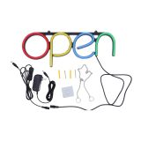CALCA OPEN Business Sign Neon Lamp Integrative Ultra Bright LED Store Shop Advertising Lamp