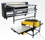 Large Format Heat Transfer Press and Calender