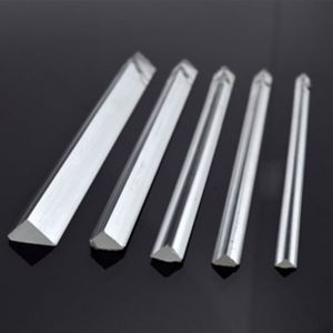 Acrylic Insert Triangle Rods 3*1200mm 200pcs/pack