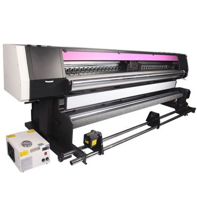 3.2m Roll to Roll UV Printer With 2/4 Epson i3200 UV Printheads