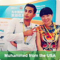 Muhammed from the USA